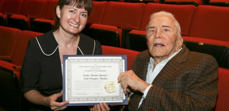 The Kirk Douglas Theatre celebrated its 10th birthday